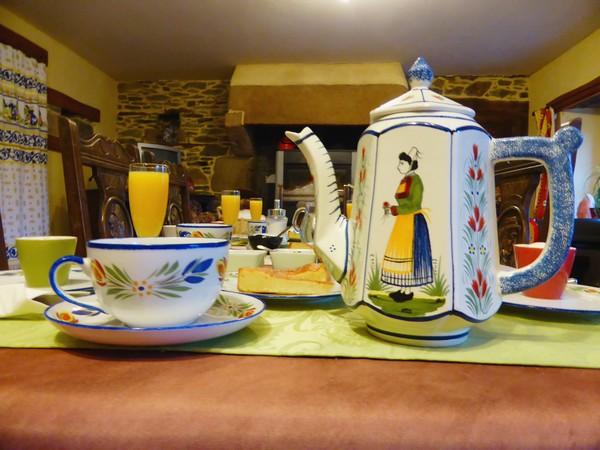 petits déjeuners  bretons offerts